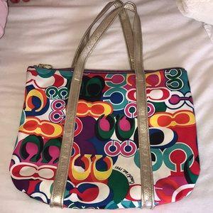 Coach Bags - Multi Colored Coach Tote